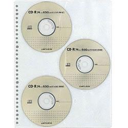 コクヨ EDB-A375 CDポケット A4リフィル 縦30穴 6枚収容 3枚入 目安在庫=△