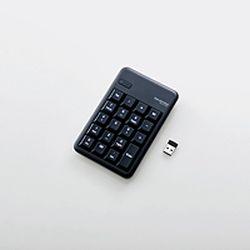 【P5E】エレコム ワイヤレステンキーボード/Mサイズ/メンブレン/高耐久/ブラック(TK-TDM017BK) メーカー在庫品