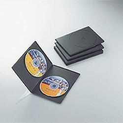 【P5E】エレコム CCD-DVDS05BK スリムDVDトールケース(CCD-DVDS05BK) メーカー在庫品