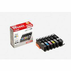 純正品 Canon キャノン BCI-351XL+350XL/6MP インクタンク (BK/C/M/Y/GY) (6552B002) 目安在庫=○