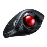 サンワサプライ Bluetoothエルゴトラックボール(チルトホイール・マルチペアリング)(MA-BTTB179BK) メーカー在庫品