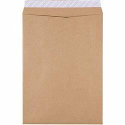 高強度(紙厚100g/m2)スーパークラフト_発送用封筒テープ付_角2(A4判用)_500枚入