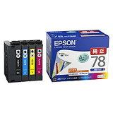 エプソン IC4CL78 インクカートリッジ(4色パック) 目安在庫=○