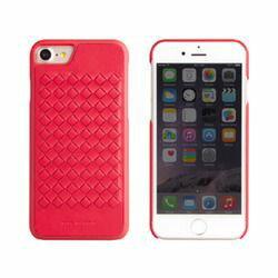 LEPLUS iPhone 7 シェル型ケース 手編み風 Tejido Merlot Red IP7BC-TJDORED 取り寄せ商品