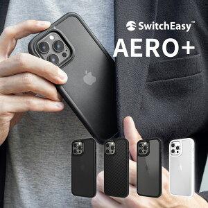 iPhone13 mini ケース MagSafe / ストラップ 対応 米軍MIL規格 クリア 透明 耐 衝撃 スマホケース 耐衝撃 薄い クリアケース MagSafe対応 スマホカバー [ Apple iPhone13mini iPhone 13 ミニ アイフォン 13mini 対応 ] SwitchEasy AERO+