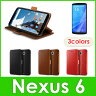 Nexus6 ケース 手帳型 VERUS [ VRS DESIGN ] Dandy Klop Diary マグネット式 ベルト 手帳 レザー カバー スタンド 機能付 [グーグル ネクサス 6 専用 ]