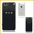 iPhone SE ケース iPhone5s ケース iPhone5 ケース スワロフスキー クリア カバー キラキラ ラインストーン シンプル デザイン 薄型 スリム 透明 カバー 大人 女子 大人 かわいい スワロ ブランド アイフォン SE アイフォン5s アイフォン5 対応 Bling My Thing Les etoiles