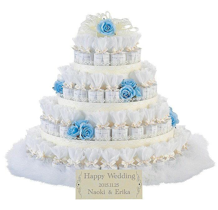 レースデコレーション ブルー 72個セット結婚式 2次会 ウェルカムオブジェ プチギフト:ぷちぎふと工房 コンサルジュ
