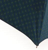 MagliaFrancesco(マリアフランチェスコ)折り畳み傘ブルー×グリーンペイズリー選べるハンドルMF107/MF116