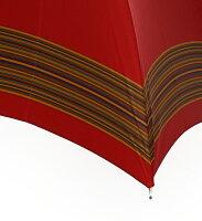 MagliaFrancesco(マリアフランチェスコ)レディース長傘パープル×バタフライSHINYMALACCAMF95