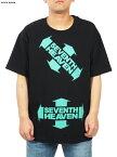 SEVENTH HEAVEN セブンスヘブン ENCLOSED SH LOGO S/S TEE / Tシャツ (ブラック) メジャーフォース 正規取扱店