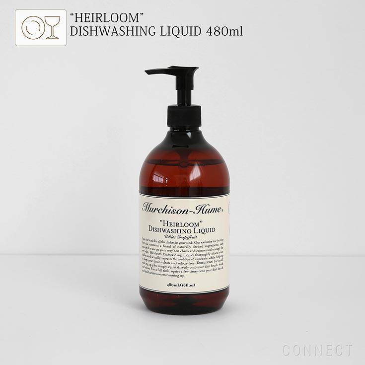 """Murchison-Hume(マーチソンヒューム)/ 食器洗い用洗剤 """"ヘアルーム""""ディッシュウォッシング リキッド 480ml オーガニック 洗剤 (マーチソン・ヒューム)"""