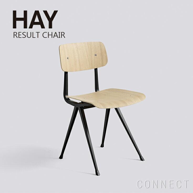 【取寄品】HAY(ヘイ) / RESULT CHAIR (チェア) / Black Frame / オーク