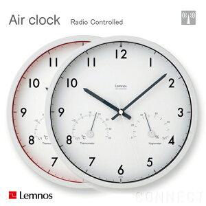 時計 壁掛け 掛け時計 掛時計 温度湿度計 【 送料無料 】LEMNOS ( レムノス ) / Air clock ( エ...