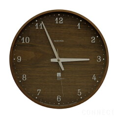 LEMNOS ( レムノス ) / Brownie(ブラウニー)電波時計 時計 壁掛け 掛け時計 掛時計 【 送料無料 】
