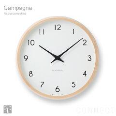 掛け時計 時計 壁掛け 掛時計 電波時計 【 送料無料 】 LEMNOS ( レムノス ) / Campagne(カンパ...