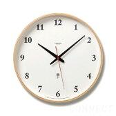 LEMNOS ( レムノス ) / Plywood clock ( プライウッド クロック )電波時計 L ナチュラル時計 壁掛け 掛け時計 掛時計 【送料無料】