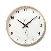 レムノス プライウッド クロック ナチュラル 掛け時計