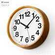 LEMNOS ( レムノス ) / Clock A ( クロックA ) 角田陽太 デザイン 時計 壁掛け 掛け時計 掛時計【送料無料】