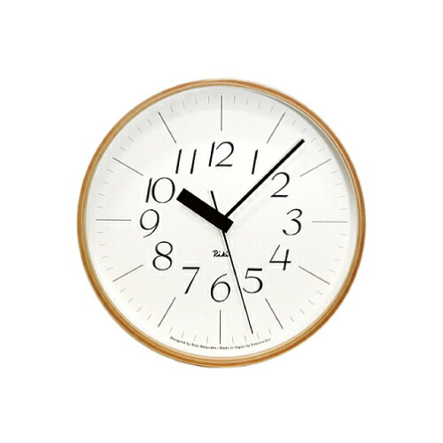電波時計 / LEMNOS ( レムノス ) / Riki clock ( リキクロック) 細字 M (φ254mm) WR07-10渡辺カ...