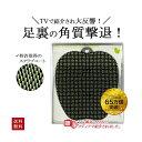 フットグルーマー グラン スポーツ フォレストグリーン フットブラシ 足洗いマット フット エクササイズ サンパック 日本製