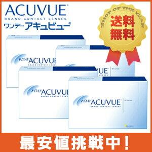 ◆◆ ワンデーアキュビュー 90枚パック 4箱 「両目6ヶ月分/1箱90枚入り/3...