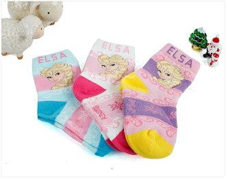 ★ 安娜和雪女王 3 P 設置為女孩柔軟溫暖孩子 Elsa /Elsa 襪子 ★ Diseney 迪士尼兒童孩子的襪子 / 女孩