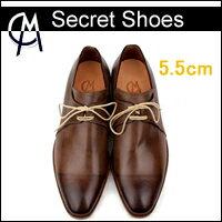【送料無料】5.5cmUP!!!ダンディー [HANDMADE]手作り靴、 おしゃれ紳士靴(シークレットシューズ、ハンドメードシューズ、オーダーメード、ビジネスシューズ【05P26Mar16】