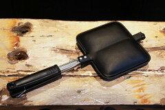 南部鉄器でカリッと焼くホットサンド!具材もコレで炒めたり焼いたり出来るんです。【岩鋳】南...