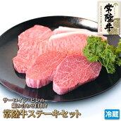 サーロイン・ヒレの組み合わせ自由!選べる常陸牛ステーキセット