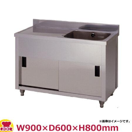 東製作所 一槽水切キャビネットシンク APM1-900H-L・APM1-900H-R W900×D600×H800(送料無料、代引不可):厨房道具・卓上用品shop cookcook