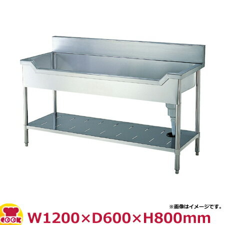 スギコ(SUGICO) 舟型流し台 600シリーズ SS-FS-126 W1200×D600×H800(送料無料、代引不可):厨房道具・卓上用品shop cookcook