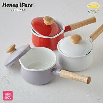 Milk the Sweet Kitchen (sweet kitchen) the pan lid 15 cm ( 1. 2 L ) red ◆ IH (IH 200 V) / enameled pot / red / enamel / enamel / hand pot / lid / kitchen toy / baby food / new life sale [35% off]
