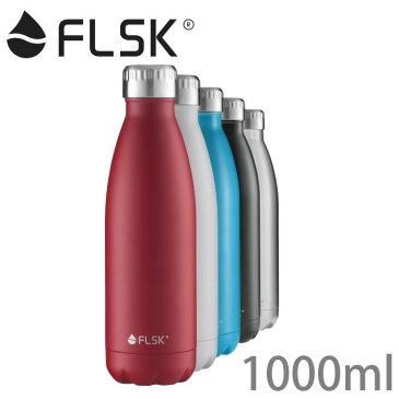 FLSK フラスク ボトル 1000ml/1L 【ボトル/水筒/魔法瓶/炭酸/お酒/アルコール/OK/保温/保冷/おしゃれ/ステンレスボトル/送料無料/あす楽】