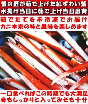 紅ずわい蟹