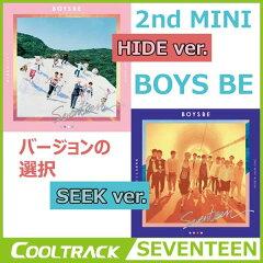 【韓国版CD】【バージョンの選択】【抽選プレゼント】SEVENTEEN(セブンティーン) - 『BOYS BE』...