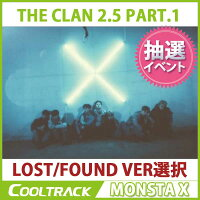 MONSTAX-『THECLAN2.5PART.1』(3RDMINIALBUM)/2つのバージョン/LOST,FOUNDVER【国内発送】