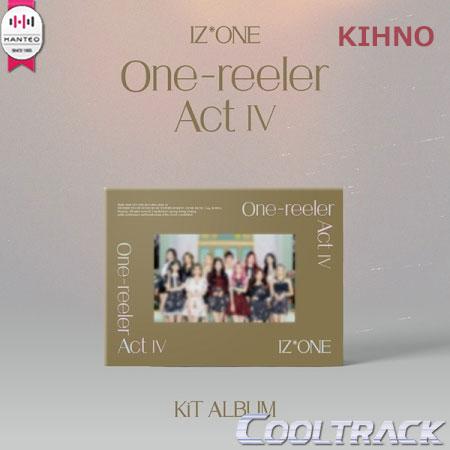 CD, 韓国(K-POP)・アジア KIHNO IZONE() - MINI 4ONE-REELER ACT IV 124IZONE