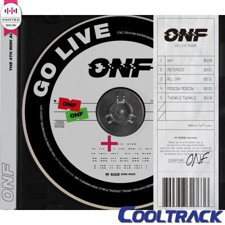 韓国(K-POP)・アジア, 韓国(K-POP)  ONF - GO LIVEMORSE22QR1 4TH MINI