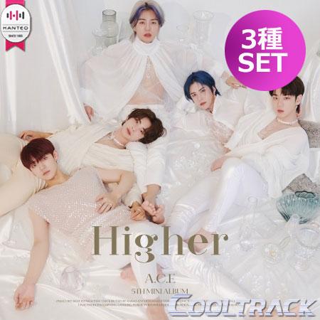 CD, 韓国(K-POP)・アジア  A.C.E() - 5TH MINISIREN : DAWN SUN ECLIPSE MOON VER 3SET HIGHER