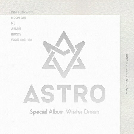 韓国(K-POP)・アジア, 韓国(K-POP)  ASTRO () - WINTER DREAM SPECIAL ALBUM