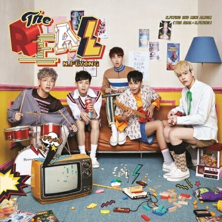 韓国(K-POP)・アジア, 韓国(K-POP)  N.FLYING - THE REAL : N.FLYING 2ND MINI ALBUM