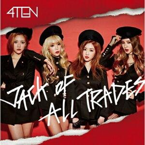 【送料無料・代引不可】 4TEN - JACK OF ALL TRADES [1ST MINI ALBUM] 【ヤマトネコポス】
