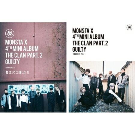 CD, 韓国(K-POP)・アジア MONSTA X - THE CLAN 2.5 PART.2 GUILTY81(4th MINI ALBUM)GUILTY,INNOCENT VER RANDOM