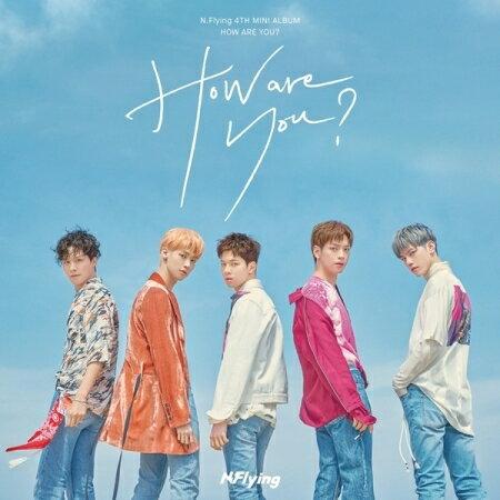 韓国(K-POP)・アジア, 韓国(K-POP)  N.FLYING - HOW ARE YOU? 4TH MINI ALBUM