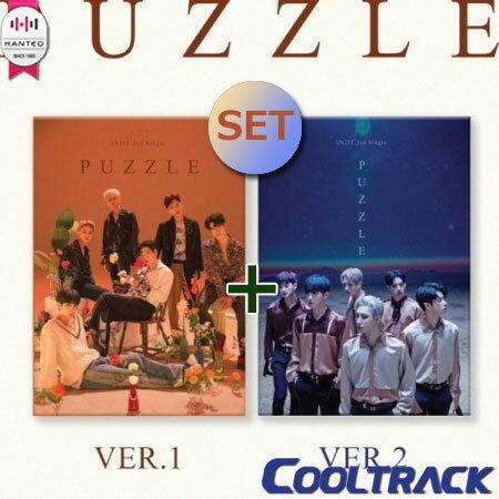 CD, 韓国(K-POP)・アジア KIHNO IN2IT() - PUZZLE3RD SINGLE KIT ALBUM 1 VER.1VER.2 SET