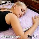 【枕パッド】高性能消臭枕パッド 消臭達人 ペット 消臭機能 ...