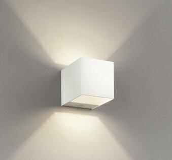 【最安値挑戦中!最大25倍】オーデリック OB255197LD(ランプ別梱) ブラケットライト LEDランプ 非調光 電球色 オフホワイト