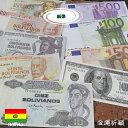 【お金持ち祈願】エケコ人形用ミニチュア 小物 本場ボリビア産 アラシータ祭用紙幣の商品画像