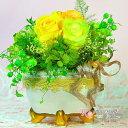 母の日 プリザーブドフラワー プリザ プレゼント お誕生日 お祝い ギフト 贈り物 お見舞い 薔薇 紫陽花 かすみ草 ミニアレンジ バースデー